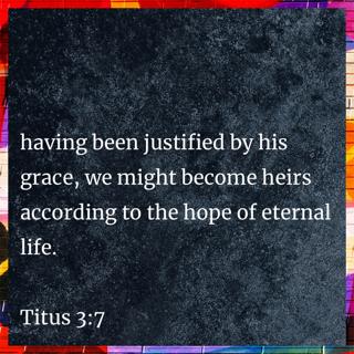 Bible Meme Titus 3 7