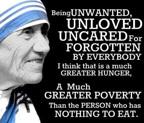 St Teresa of Calcutta quote